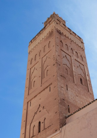 Minaret in Marrakesh