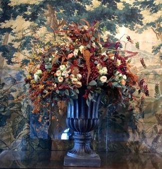 цветочные композиции замка Шенонсо
